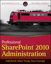 Professional SharePoint 2010 Administration (0470912456) cover image