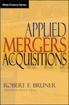 Applied Mergers and Acquisitions (0471395056) cover image