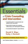 Essentials of Crisis Counseling and Intervention (0471417556) cover image
