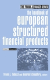 The Handbook of European Structured Financial Products (0471484156) cover image