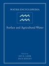 Water Encyclopedia, Volume 3, Surface and Agricultural Water (0471736856) cover image