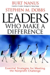 Leaders Who Make a Difference: Essential Strategies for Meeting the Nonprofit Challenge (0787946656) cover image