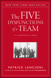 The Five Dysfunctions of a Team: A Leadership Fable (0787960756) cover image