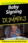 Baby Signing For Dummies (1118068556) cover image