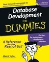 Database Development For Dummies (1118085256) cover image