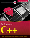 Professional C++, 2nd Edition (1118169956) cover image