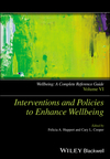 Wellbeing: A Complete Reference Guide, Volume VI, Interventions and Policies to Enhance Wellbeing (1118608356) cover image
