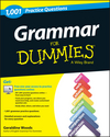 Grammar For Dummies: 1,001 Practice Questions (+ Free Online Practice) (1118744756) cover image