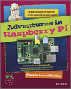 Adventures In Raspberry Pi (1118751256) cover image