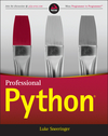 Professional Python (1119070856) cover image