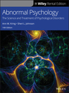 Abnormal Psychology: The Science and Treatment of Psychological Disorders, 14th Edition (1119539056) cover image