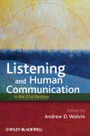 Listening and Human Communication in the 21st Century  (1405181656) cover image