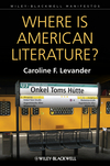 Where is American Literature? (1405192356) cover image