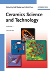 Ceramics Science and Technology, Volume 1, Structures (3527311556) cover image