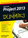 Microsoft Project 2013 für Dummies (3527680756) cover image