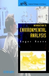 thumbnail image: Introduction to Environmental Analysis