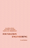 Foundation Engineering, 2nd Edition (0471675857) cover image