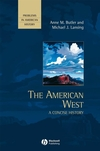 The American West: A Concise History (0631210857) cover image