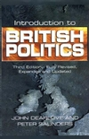 Introduction to British Politics, 3rd Edition, Completely Revised and Updated (0745620957) cover image