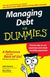 Managing Debt For Dummies (1118068157) cover image