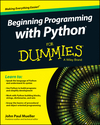 Beginning Programming with Python For Dummies (1118891457) cover image