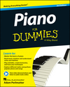 Piano For Dummies, Book + Online Video & Audio Instruction, 3rd Edition (1118900057) cover image