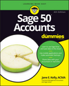 Sage 50 Accounts For Dummies, 4th UK Edition (1119214157) cover image