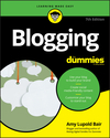 Blogging For Dummies, 7th Edition (1119588057) cover image
