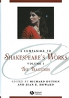 A Companion to Shakespeare's Works, Volume I: The Tragedies (1405136057) cover image