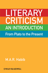 Literary Criticism from Plato to the Present: An Introduction (1405160357) cover image
