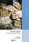 Human Rights: An Anthropological Reader (1405183357) cover image
