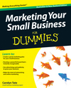 Marketing Your Small Business For Dummies, Australian and New Zealand Edition (1742469957) cover image