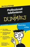 Professionell telefonieren für Dummies Das Pocketbuch (3527637257) cover image