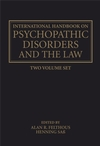 The International Handbook on Psychopathic Disorders and the Law: Diagnosis and Treatment, Volume I (0470011858) cover image
