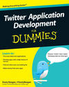 Twitter Application Development For Dummies (0470632658) cover image