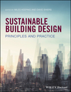 Sustainable Building Design: Principles and Practice (0470672358) cover image