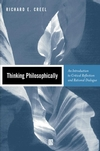 Thinking Philosophically: An Introduction to Critical Reflection and Rational Dialogue (0631219358) cover image