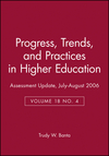 Assessment Update: Progress, Trends, and Practices in Higher Education, Volume 18, Number 4, 2006 (0787990558) cover image