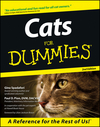 Cats for Dummies, 2nd Edition (1118069358) cover image