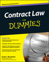 Contract Law For Dummies (1118195558) cover image