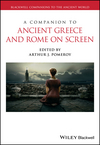 A Companion to Ancient Greece and Rome on Screen (1118741358) cover image