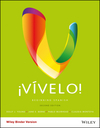 �V�velo!: Beginning Spanish, Binder Ready Version, 2nd Edition (1119047358) cover image