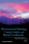 Recreational Hunting, Conservation and Rural Livelihoods: Science and Practice (1405167858) cover image