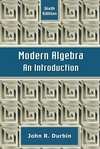 Modern Algebra: An Introduction, 6th Edition (EHEP000258) cover image