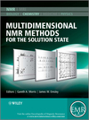 thumbnail image: Multidimensional NMR Methods for the Solution State