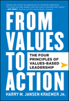From Values to Action: The Four Principles of Values-Based Leadership (0470881259) cover image