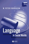 Language in Social Worlds (0631193359) cover image