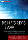 Benford's Law: Applications for Forensic Accounting, Auditing, and Fraud Detection (1118152859) cover image