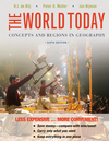 The World Today: Concepts and Regions in Geography, 6th Edition Binder Ready Version (1118250559) cover image