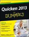 Quicken 2013 For Dummies (1118461959) cover image